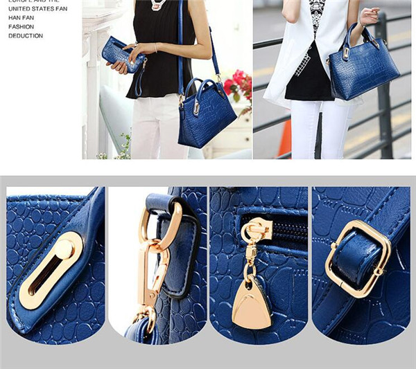 Brand Women PU Leather Crossbody Messenger Handbags