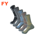 thick winter heated hiking cozy crew socks alpaca cashmere merino wool Acrylic work wool hiking socks merino hiking sock for men