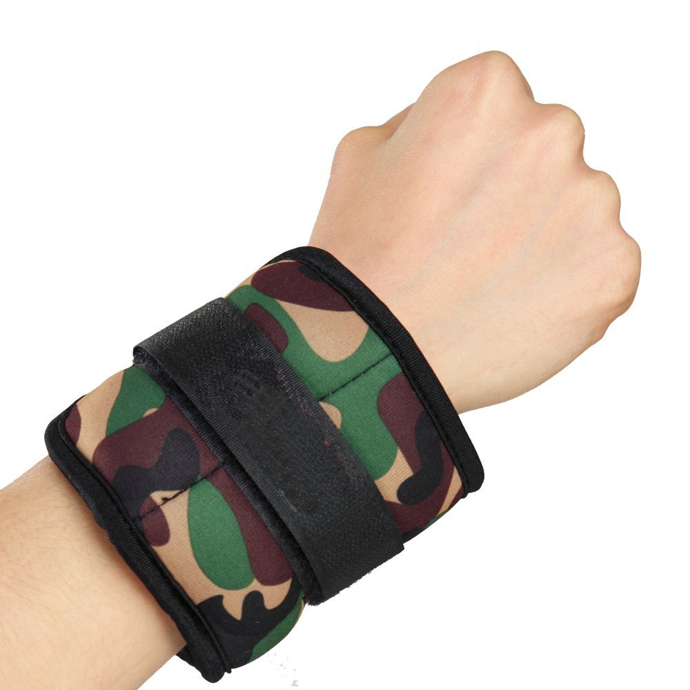 Camouflage Ankle Weight Wrist Weight Sets