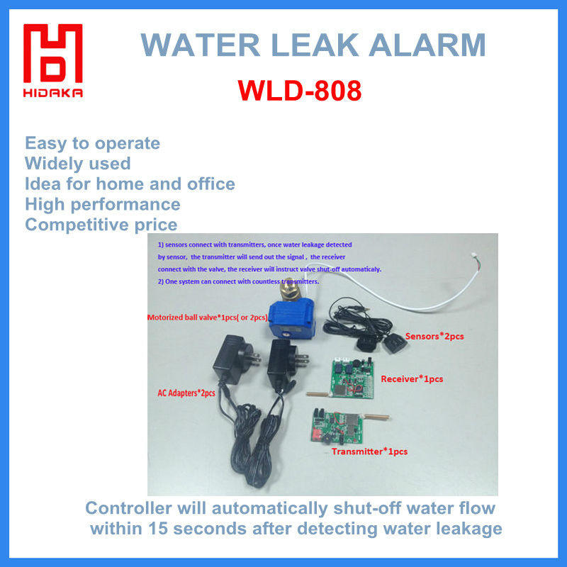 auto shut off valve Water Leak Alarm ground water detector for home use water leak detector