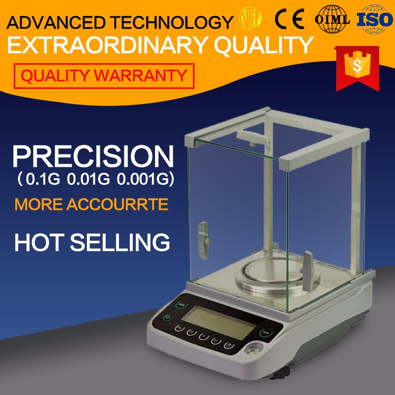 Sensitive scale laboratory weight measuring instruments 0.1mg