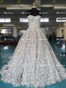 ED Bridal Factory Custom Made Sweetheart Neckline Ball Gown Feather Wedding Dress