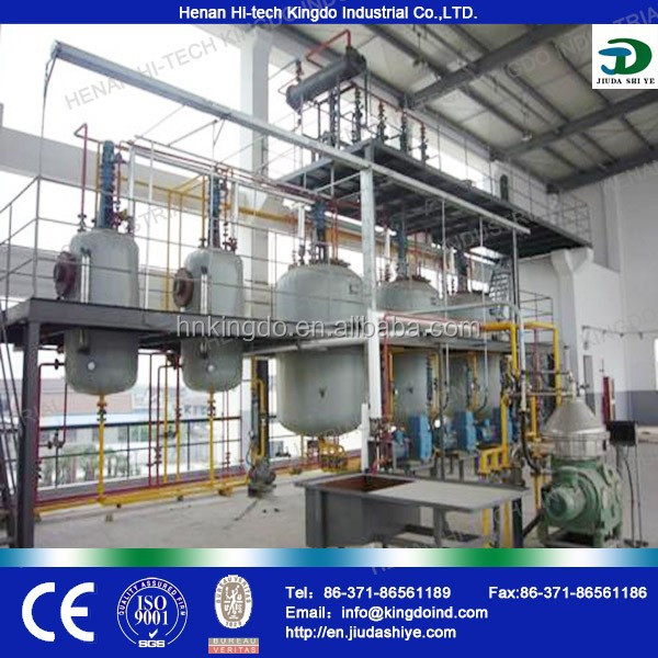 Kingdo company 30T-3000T small and big scale biodiesel plants manufacturers