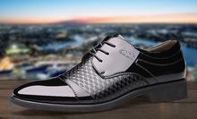 New Mens Business Dress Formal Wedding Leather Lace up Shoes
