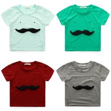 Hot New 2016 Funny Cartoon Kids Shirt Cotton O neck Boys T shirt Girls Tops Cute