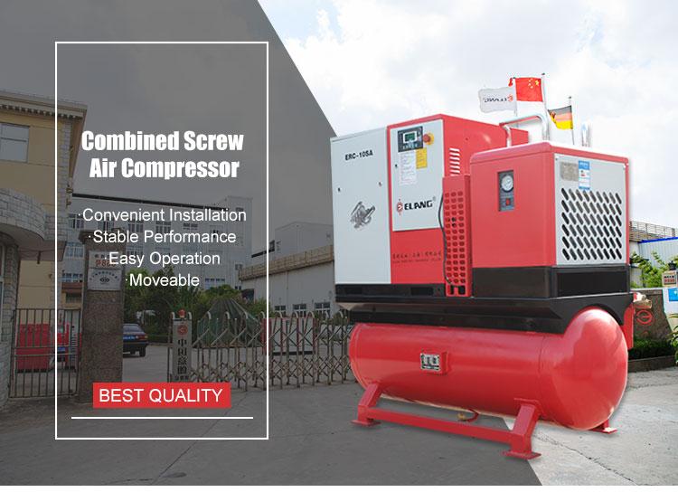 Boge kompressor einheit mit trockner und behälter s