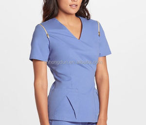 New style scrubs nursing uniforms wholesale from China