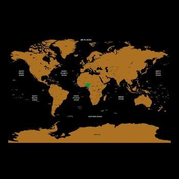 Oem custom deluxe black foil coated paper scratch off world map oem custom deluxe black foil coated paper scratch off world map printing gumiabroncs Choice Image