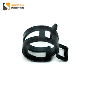 OEM decorative zinc metal steel spring hose clamp automotive hose clamps