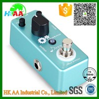Precision Aluminum Alloy Housing OEM Electric Guitar Effect Pedal