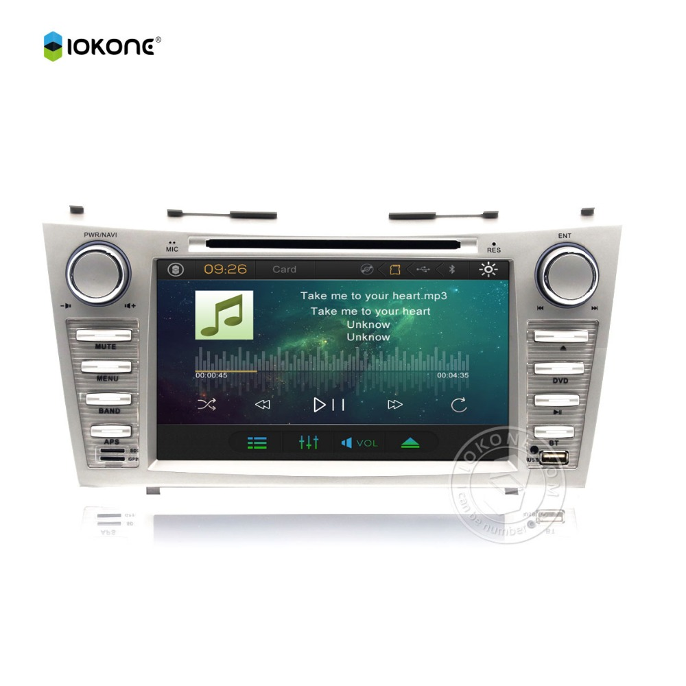 Factroy cheap price made in china <strong>car</strong> video dvd player for <strong>Toyota</strong> Camry with gps bluetooth raidio