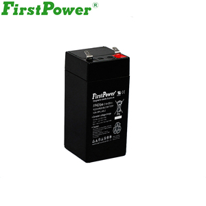 firstpower 4v 2ah rechargeable lead acid battery for led torch light