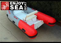 China Wholesale Rigid Fiberglass RIB Boat used rigid inflatable boats rubber boat price for sale