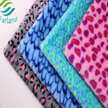 pv plush 100% polyester fabric for toys,garment,baby products,clothing,caps,home textile