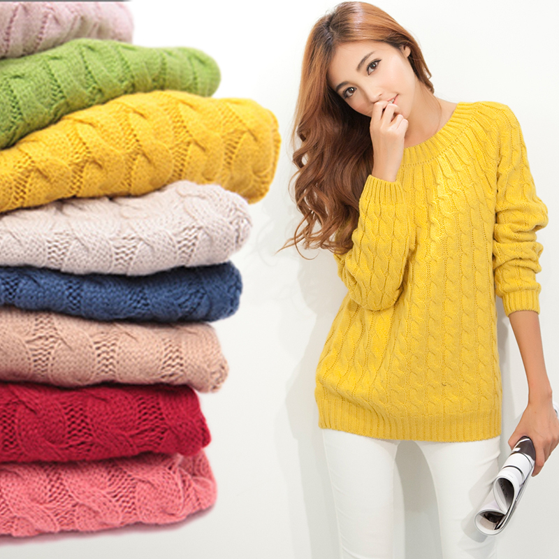 Aliexpress.com: Comprar Moda mujer suéter O cuello