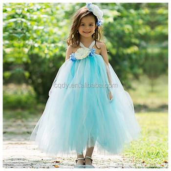 2015 Lovely Fluffy Flower Girl Wedding Dresses Girls Puffy Dresses ...