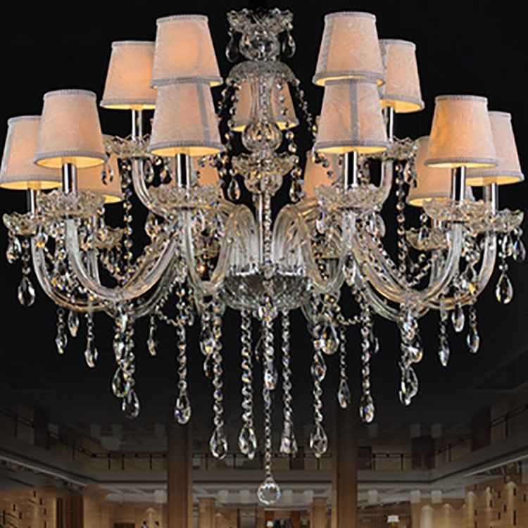 Interior Decoration Chandelier Luxury Hotel Crystal Hanging