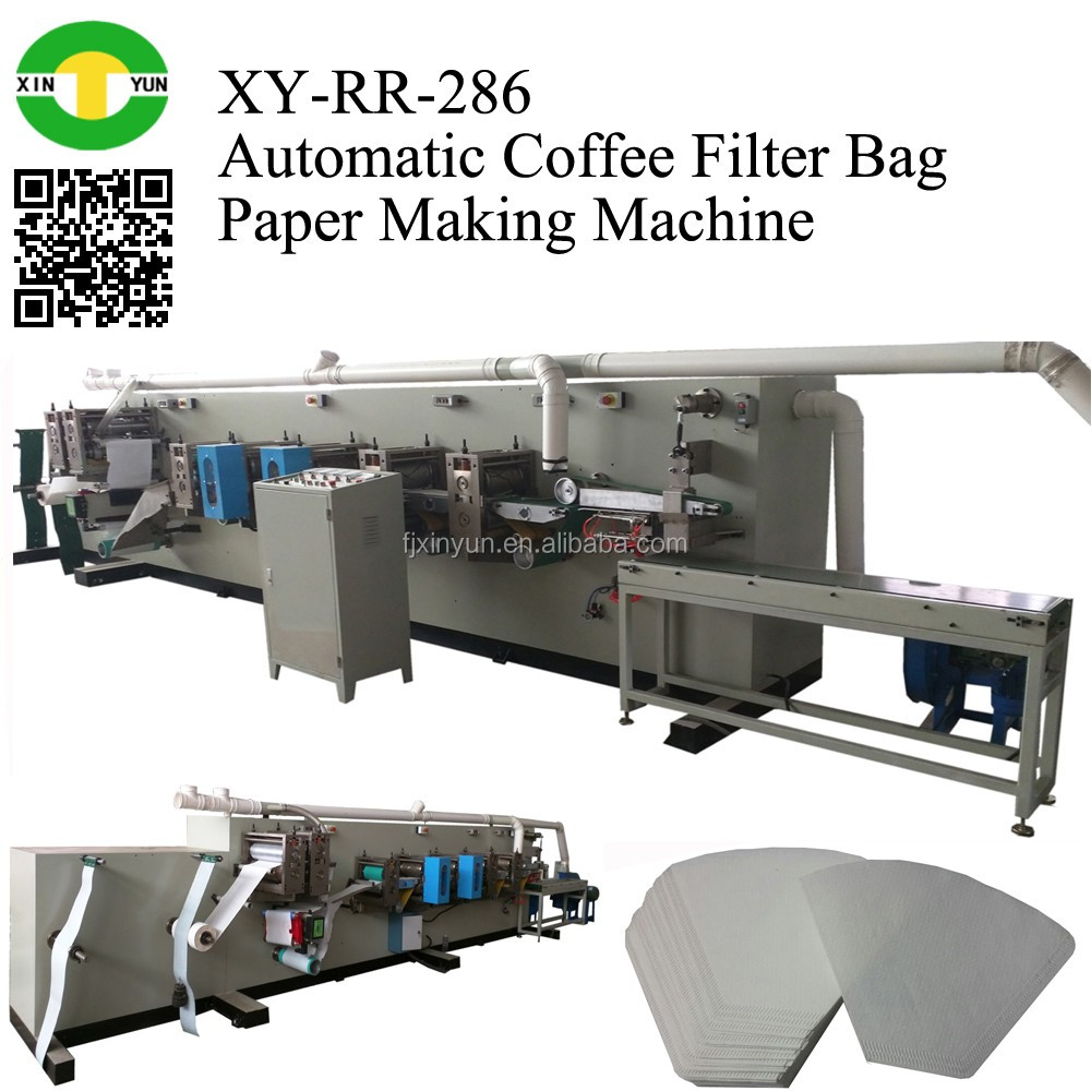 Automatic Coffee Filter Bag making machine