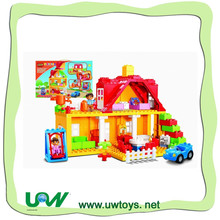 76PCS MY HOUSE BUILDING BLOCKS, cy gifts