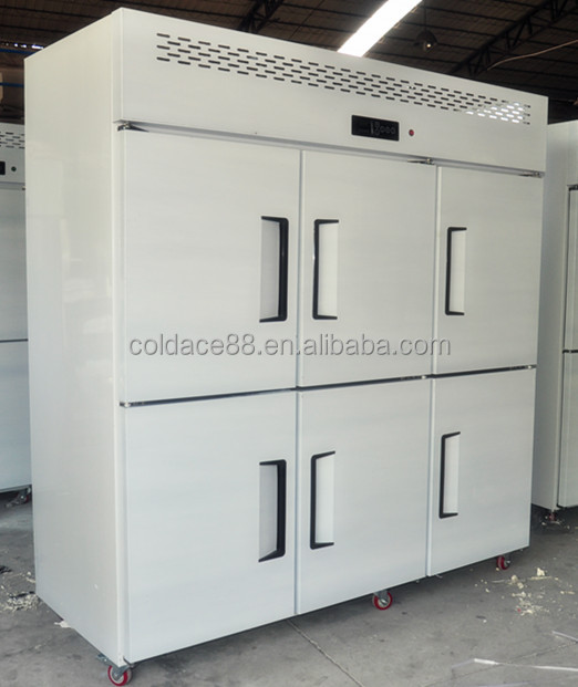 Best selling 6 doors kitchen refrigerator Guangzhou with good quality