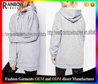 Soft Touch Jersey Oversized Pullover Blank Women Hoodies