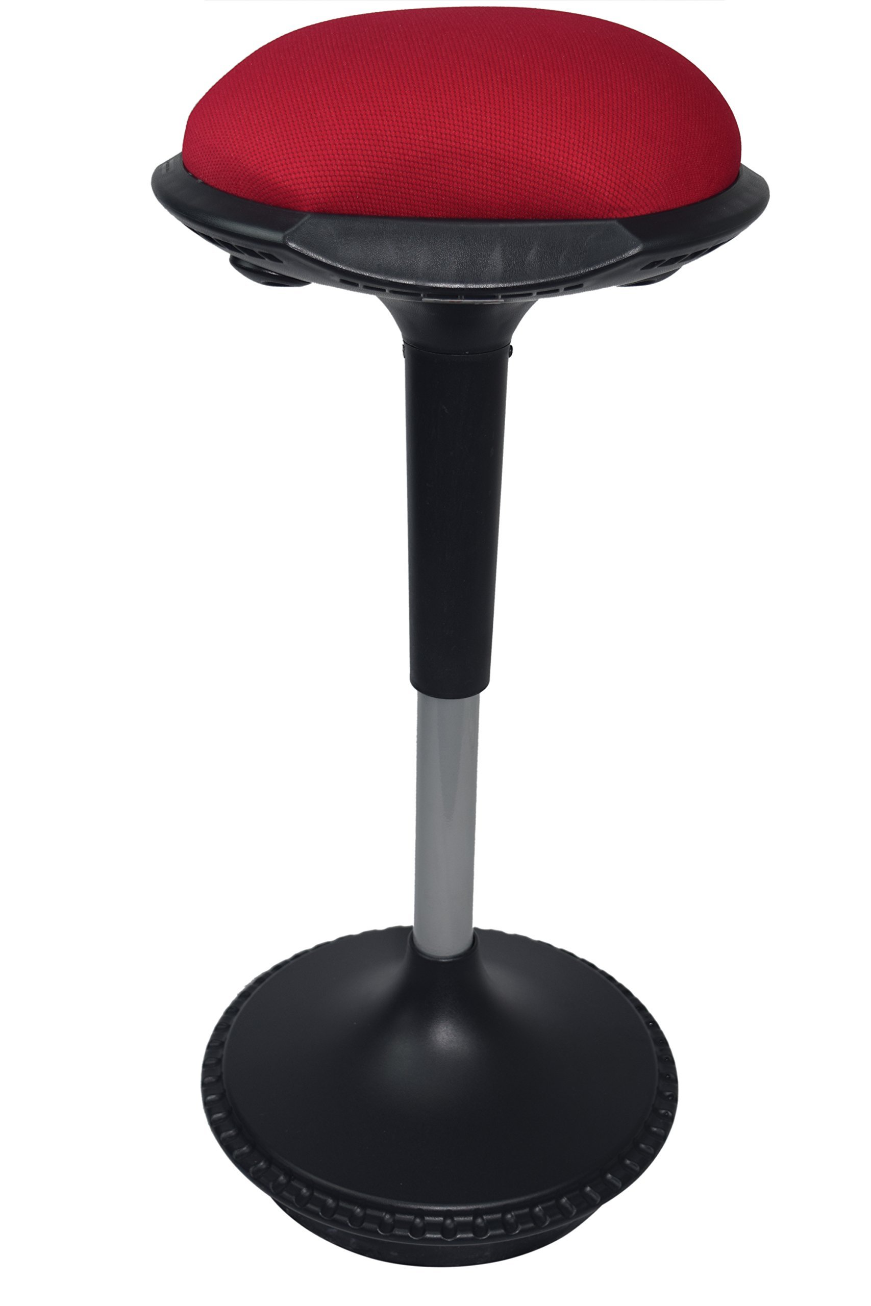 Incredible Wobble Stool Adjustable Height Active Sitting Balance Chair For Office Stand Up Desk Best Tall Swivel Ergonomic Stability Perch Standing Desk Fabric Download Free Architecture Designs Grimeyleaguecom