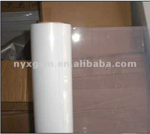 PET Semi Transparent Film with glossy surface