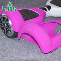 Unique Design Silicone Sleeve for self balancing two wheeler electric scooter, logo printing service provided
