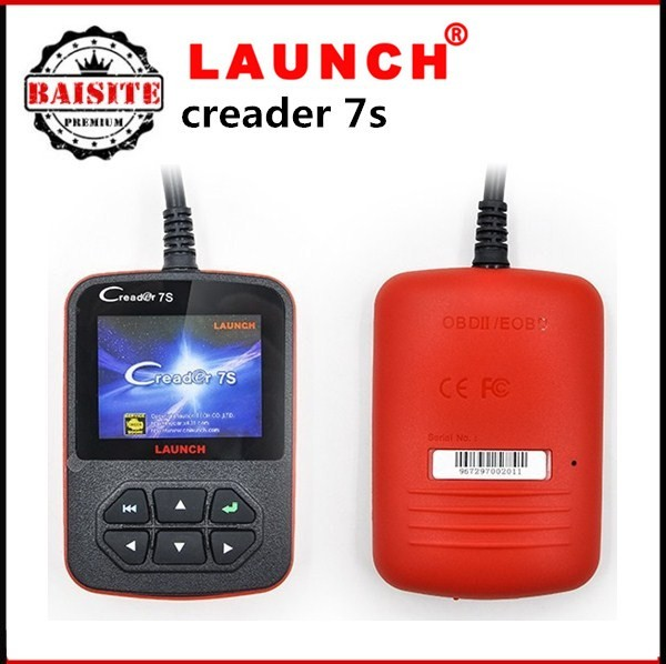 100% original from launch X431 Creader 7S OBD II Code Reader + Oil Reset Function with good feedback