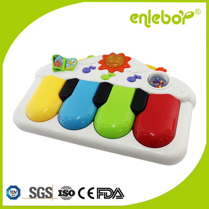 Lovely baby gym fitness pedal música de harpa
