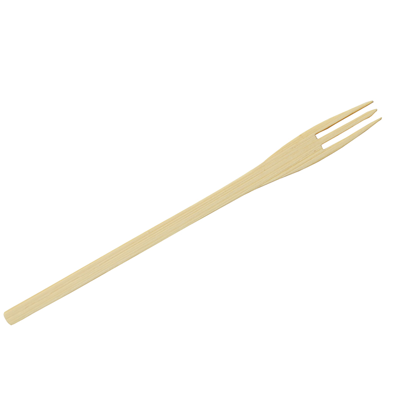 Hot Sale Natural Eco-friendly fork disposable  Wholesale Compostable Biodegradable Disposable Wooden Fork