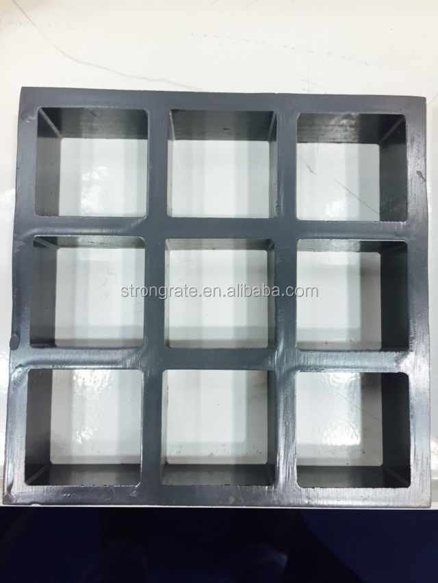Wholesale STRONGRATE FRP GRATING used for fencing with square mesh ...