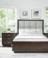 Latest designs full wholesale luxury bedroom furniture set made in China