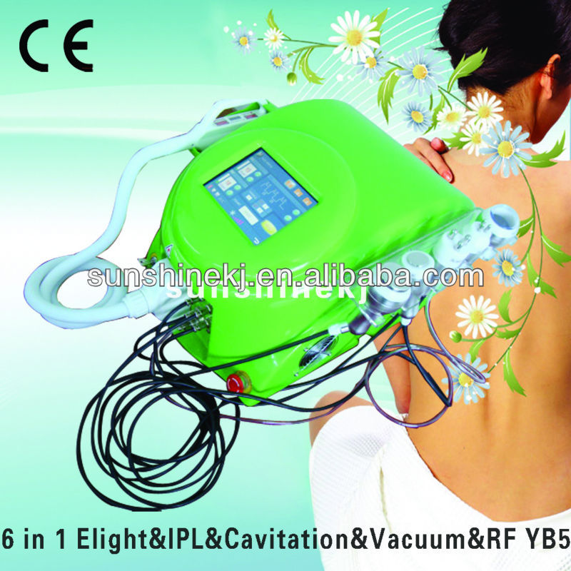NEW design! 6 in 1 multifunctional cavi&vacu&rf slimming lipo machine