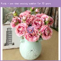 K9451 Cheap wedding silk artificial flower centerpieces for wedding table