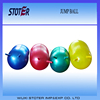 Customized print logo pvc horn ball jump ball