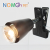 Nomo hot selling reptile wide-end ceramic lamp holder bracket