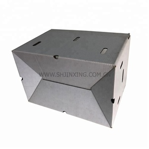A specially designed C-shaped corrugated cardboard box can be provided