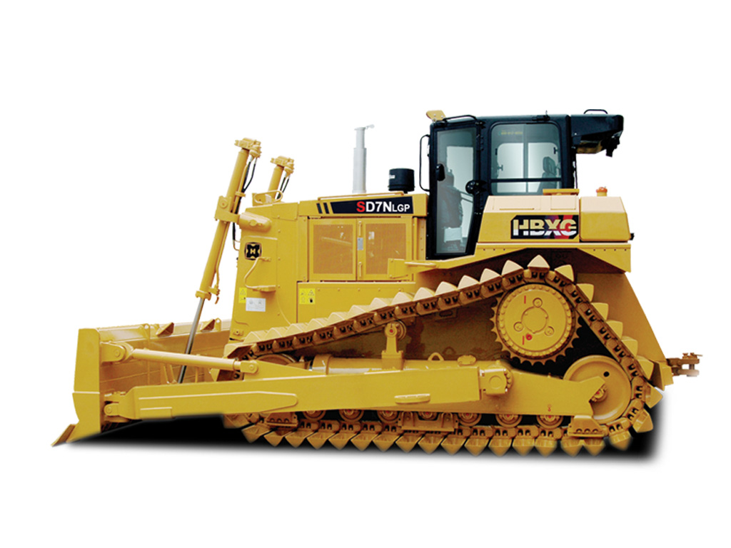 new HBXG hydraulic 230hp 8.4m3 blade capacity crawler bulldozer SD7N for Desert Use