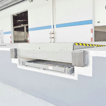 2016 Hot Products Tube Chain Hydraulic Dock Leveler Goods From ...