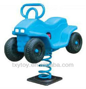 2013 New Cartoon Desing!! Kids Jeep Rocking Horse LT-2114F