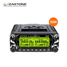 2017 hot selling ZASTONE D9000 50w dual band Uhf 2 Meter Mobile Radio