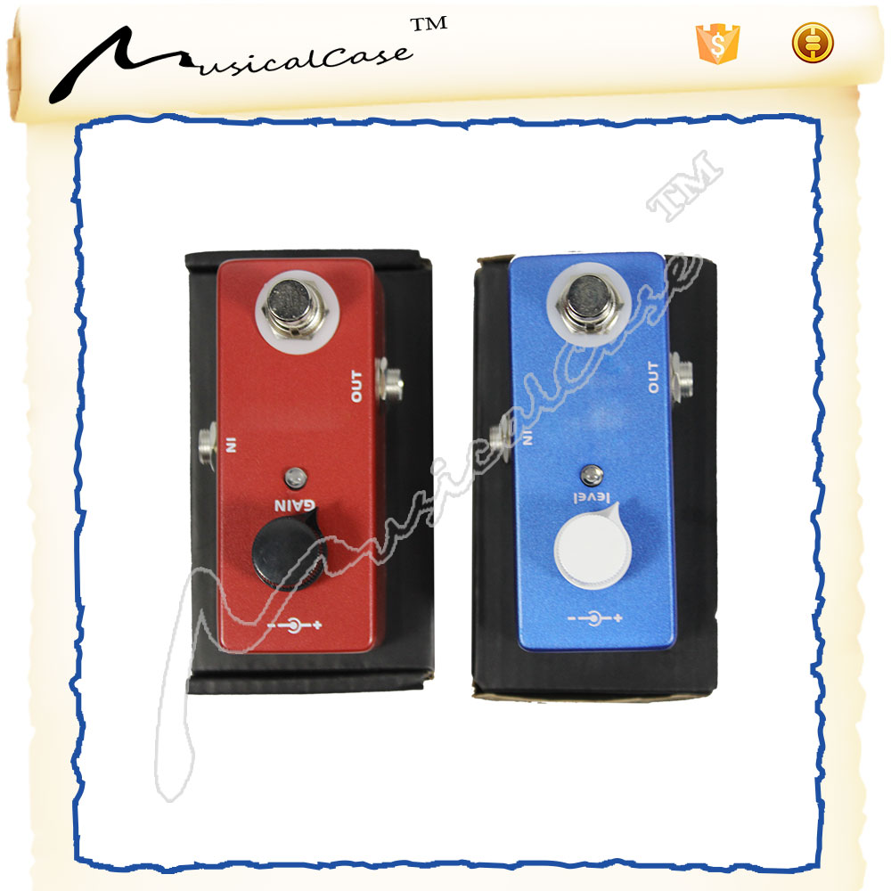 custom guitar effect distortion pedal and guitar parts from china hardware factory