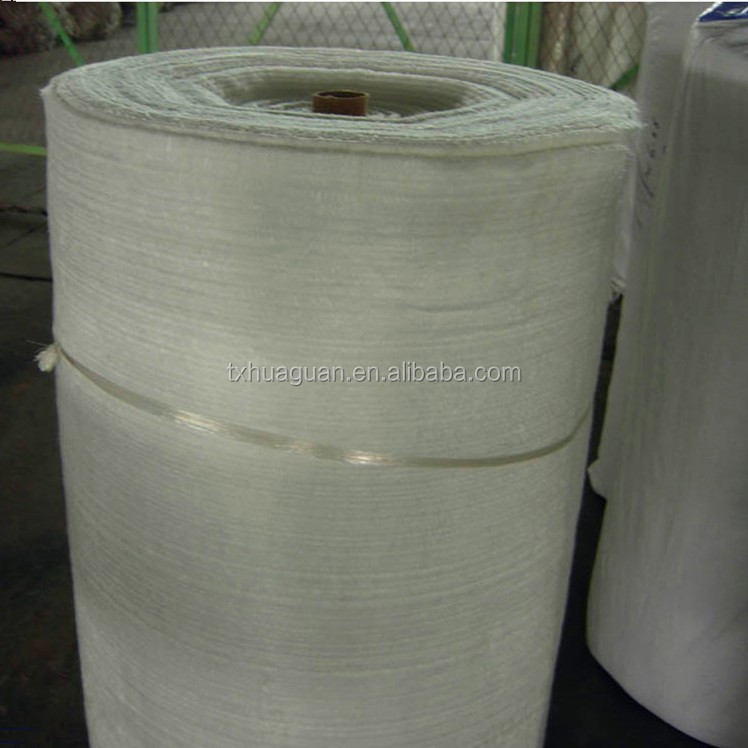 Glass Fiber Fiberglass Needle Mat For Heat Insulation