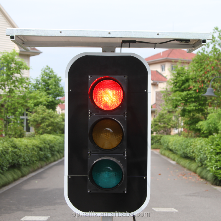 Hot Sale Ip65 Yellow Led High Power Traffic Lights Solar Powered ...
