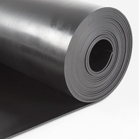Industrial SBR EPDM NBR CR IIR butyl RUBBER SHEET