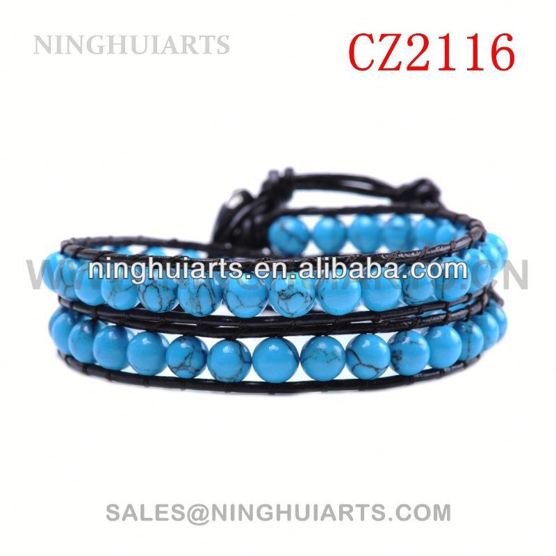 friendship beads resin rhinestone and bangles make your own logo leather New Product bracelet