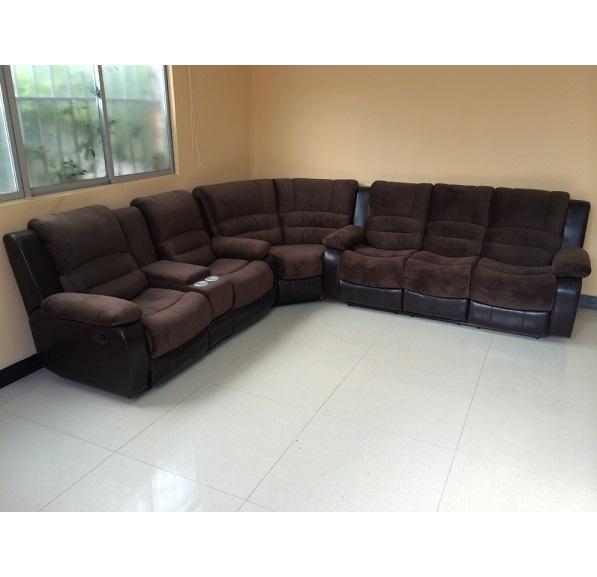 Cheap Modern Style Genuine Leather Sofa Natuzzi Recliner