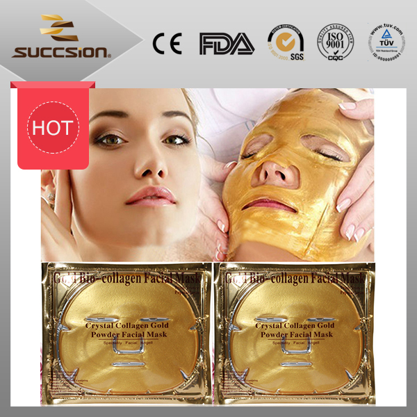Collagen 24K gold facial mask, pure gold collagen face mask(anti-wrinkle & anti-aging)