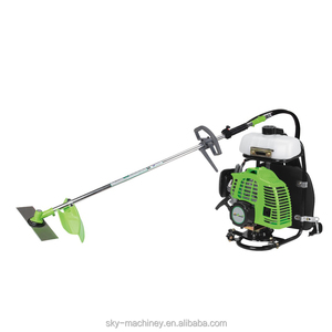 kawasaki power backpack glass brush cutter BG328